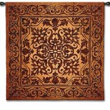 """Geometric Iron Work"" by Acorn Studios Tapestry"