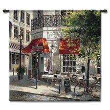 Classical Corner Café by Brent Heighton Tapestry