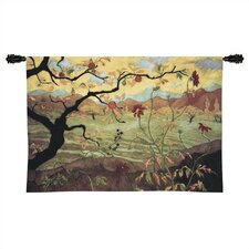 Cityscape, Landscape, Seascape Apple Tree with Fruit Tapestry