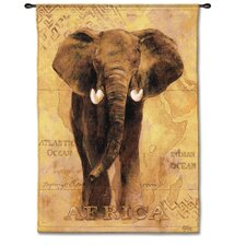 Classical African Voyage I by Gosia Gajewska Tapestry