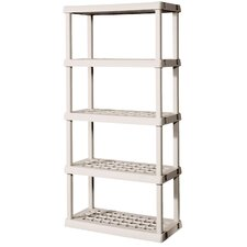 "75.03"" H 5 Shelf Shelving Unit Starter"