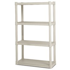 "57"" H 4 Shelf Shelving Unit Starter"