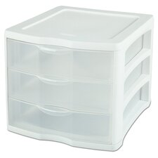 3 Drawer ClearView™ Storage Organizer (Set of 4)