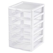 5 Drawer ClearView™ Storage Unit (Set of 4)