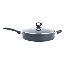 """Comfort Grip 12"""" Non-Stick Skillet with Lid"""
