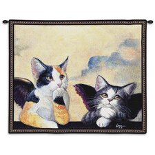Cherub Cats Tapestry