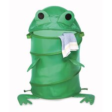Frog Collapsible Kids Hamper
