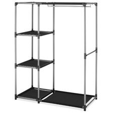 "50"" H x 39.13"" W x 19"" D Spacemaker Garment Rack/Shelves"