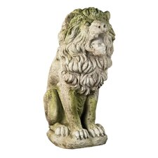 Animals Roman Estate Lion Statue