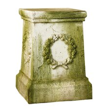 Wreath Outdoor Pedestal