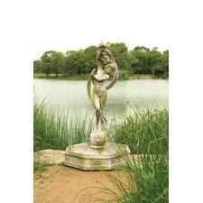 Fiber Stone Water Venus Fountain