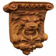 Lion Mascot Bracket Wall Decor