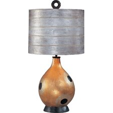 """Pericles 26"""" H Table Lamp with Drum Shade"""