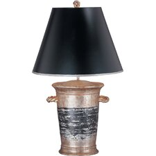 One Light Gentilly Table Lamp with Empire Shade