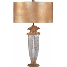 """Bienville 30"""" H Table Lamp with Drum Shade"""