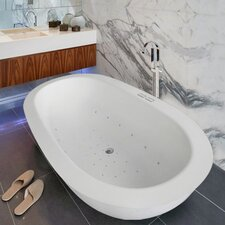 """Karolina 0.88"""" x 35.38"""" Air bathtub"""
