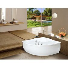 PureScape 314 Corner Acrylic Bathtub