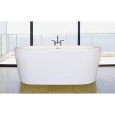 """Purescape 63"""" x 27.5"""" Soaking Bathtub"""