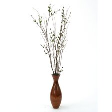 Silk Ligustrum and Birch Branches Tree in Vase