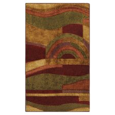 New Wave Picasso Wine Area Rug