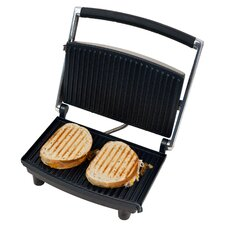 Non-Stick Panini Press and Grill with Lid