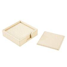 Granada 5 Piece Coaster & Caddy Set