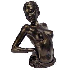 The Sensual Stretch Nude Female Figurine