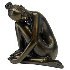 Visions of Leila Nude Female Study Head Turned Figurine