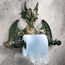 Wall Mounted Commode Dragon Tyrant Bath Toilet Paper Holder