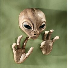Roswell the Alien Wall Décor (Set of 2)