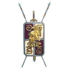 Roman Legionnaire's Crest Coat of Arms Shield Wall Décor