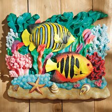 The Great Barrier Reef Fish Wall Décor: Royal Angelfish