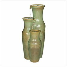 Ceramic Grecian Jars Garden Ceramic Tiered Fountain
