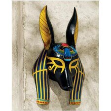 Mask of Ancient Egyptian Gods Anubis Wall Décor
