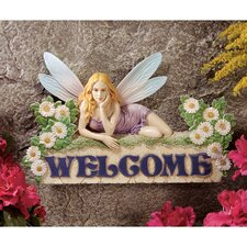 The Welcome Fairy Wall Sculpture