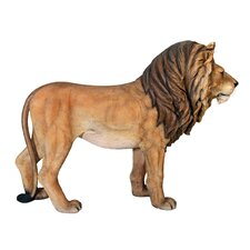 Life-Size King of the Lions Sculpture