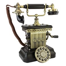 1923 Reproduction Victorian Magneto Telephone