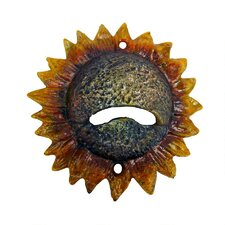 Sunny Sunflower Cast Iron Bottle Opener (Set of 2)