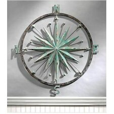 Rose of the Winds Compass Rose Wall Décor