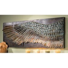 Wing of Icarus Sculptural Frieze Wall Décor