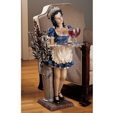 Genevieve the Buxom French Maid Statue