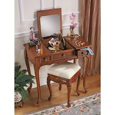 Princess Caroline Vanity with Mirror