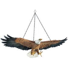 Flight of Freedom Hanging Eagle Wall Décor