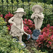 Young Gardeners Statue