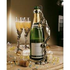 Bella Donna Maniglia Del Vino Wine/Champagne Stand 1 Bottle Tabletop Wine Rack