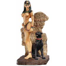 Egyptian Panther Goddess Figurine