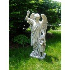 Guardian Angel Child's Prayer Statue