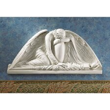Angel Weeping Pediment Wall Décor (Set of 2)