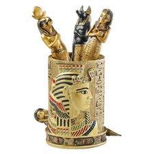 Egyptian Pharaoh Pen Vessel