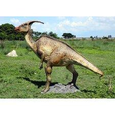 Jurassic-Sized Parasaurolopus Dinosaur Statue